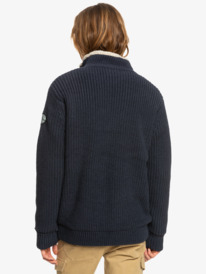 Boketto - Zip-Up Sherpa Lined Jumper for Men  EQYSW03260