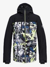 grandes marques large choix de designs dernières conceptions diversifiées Soldes Vestes Ski & Snowboard Homme | Quiksilver