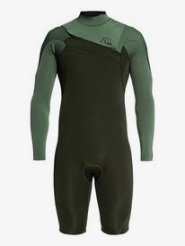 2/2mm Highline Ltd - Long Sleeve Chest Zip Springsuit for Men  EQYW403012