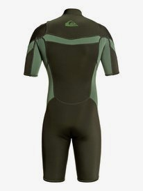 2/2mm Syncro - Short Sleeve Chest Zip FLT Springsuit  EQYW503014