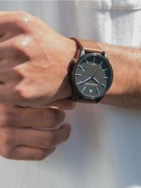 The Timebox Leather - Analogue Watch for Men  EQYWA03024