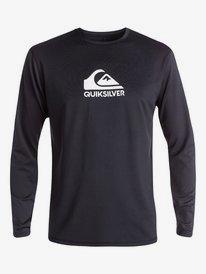 Solid Streak - Long Sleeve UPF 50 Surf T-Shirt for Men  EQYWR03160