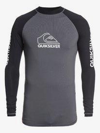 On Tour - Long Sleeve UPF 50 Rash Vest for Men  EQYWR03216