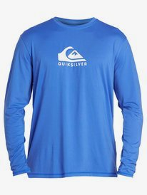 Solid Streak - Long Sleeve UPF 50 Surf T-Shirt for Men  EQYWR03247