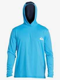 Dredge - Hooded Long Sleeve UPF 50 Rash Vest for Men  EQYWR03253