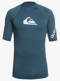 All Time - Short Sleeve UPF 50 Rash Vest for Men  EQYWR03256