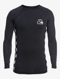 Check This - Long Sleeve UPF 50 Rash Vest for Men  EQYWR03285