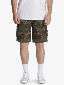 "Crucial Battle 21"" - Cargo Shorts for Men  EQYWS03456"