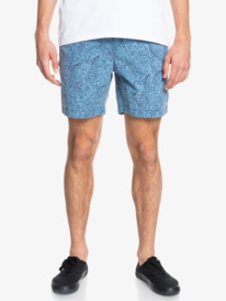 "Taxer 17"" - Elasticated Shorts for Men  EQYWS03714"