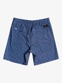 "Elastic Checker 18"" - Amphibian Board Shorts for Men  EQYWS03721"