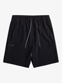 "Elastic Cargo 19"" - Recycled Amphibian Board Shorts for Men  EQYWS03757"