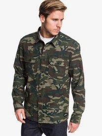 Kata Tjuta - Long Sleeve Overshirt for Men  EQYWT03878
