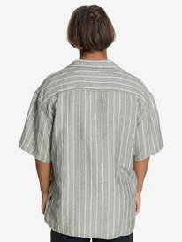 Originals - Short Sleeve Linen Camp Shirt  EQYWT03976