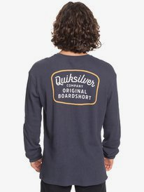 Rear View - Long Sleeve T-Shirt for Men  EQYZT06080
