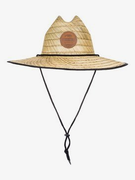 Waterman Dredged - Straw Lifeguard Hat  AQMHA03130