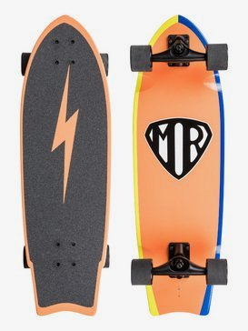Mr Super - Longboard Skateboard  EGL20MRSWH