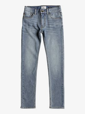 Distorsion Sunny Blue - Slim Fit Trousers for Boys 8-16  EQBDP03140