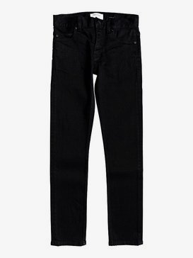 Killing Zone Black Black - Skinny Fit Jeans for Boys 8-16  EQBDP03166