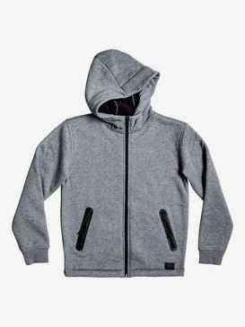 Kurow Sherpa - Zip-Up Sherpa-Lined Hoodie for Boys 8-16  EQBFT03543