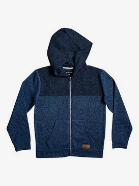 Keller Block - Zip-Up Fleece Lined Hoodie for Boys 8-16  EQBFT03546