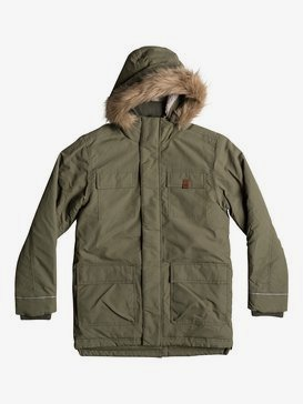 Seasonal Rain - Water-Repellent Parka Jacket for Boys 8-16  EQBJK03131