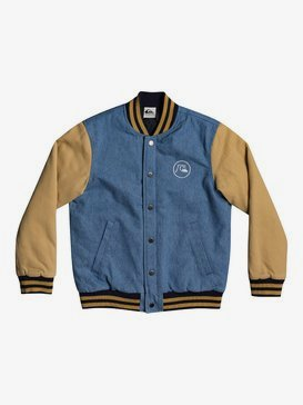 Radicals Log - Varsity Jacket for Boys 8-16  EQBJK03204