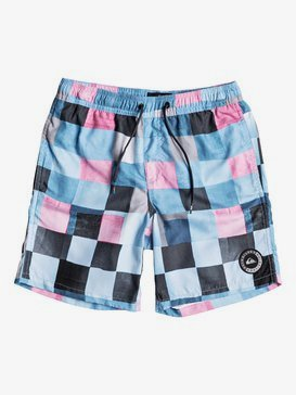 "Resin Check 15"" - Swim Shorts for Boys 8-16  EQBJV03139"
