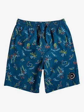 "Southern Dream 17"" - Swim Shorts for Boys 8-16  EQBJV03236"