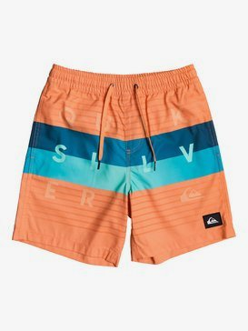 "Word Block 15"" - Swim Shorts  EQBJV03267"