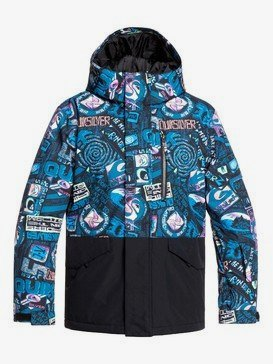Mission Block - Snow Jacket for Boys 8-16  EQBTJ03101