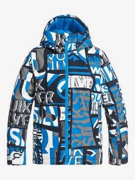 Mission Printed - Snow Jacket for Boys 8-16  EQBTJ03120