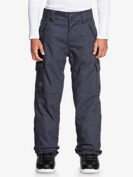 Porter Denim - Denim Snow Pants for Boys 8-16  EQBTP03028