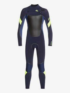 5/4/3mm Syncro Plus - Hooded Chest Zip Wetsuit for Boys 8-16  EQBW203003