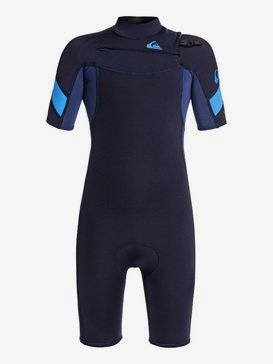 2/2mm Syncro - Short Sleeve Chest Zip FLT Springsuit  EQBW503011