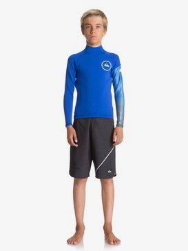 1mm Syncro Series - Long Sleeve Neoprene Surf Top for Boys 8-16  EQBW803003