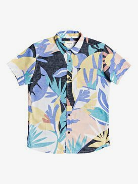 Tropical Flow - Short Sleeve Shirt for Boys 8-16  EQBWT03293