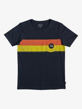 Multiply Stripe - Pocket T-Shirt for Boys 8-16  EQBZT04013