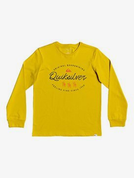 Wave Slaves - Long Sleeve T-Shirt for Boys 8-16  EQBZT04033