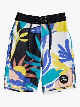 "Highline Tropical Flow 14"" - Board Shorts for Boys 2-7  EQKBS03261"