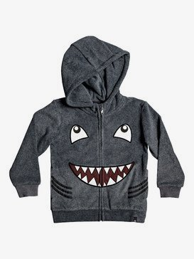 Boy's 2-7 Fraser Coen Shark Zip-Up Hooded Fleece  EQKFT03292