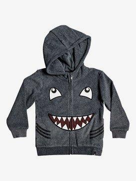 Boy's 2-7 Fraser Coen Shark Zip-Up Hooded Fleece  EQKFT03292