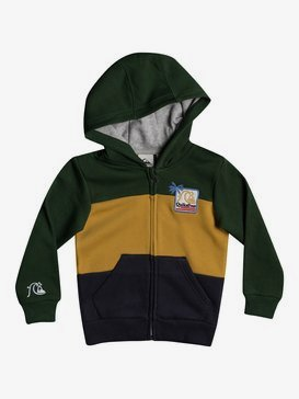 Tropical Block - Zip-Up Hoodie for Boys 2-7  EQKFT03329