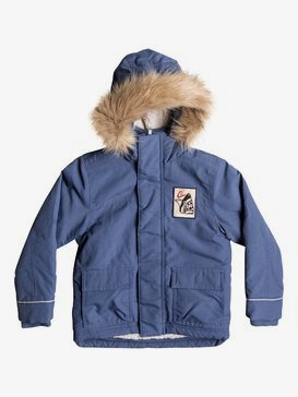 Short Rain - Water-Repellent Parka Jacket for Boys 2-7  EQKJK03079