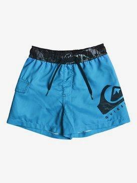 "Lava Logo 11"" - Swim Shorts for Boys 2-7  EQKJV03040"