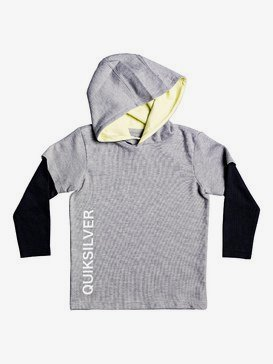 Mindil Spot - Long Double Sleeve Hooded Top for Boys 2-7  EQKKT03166