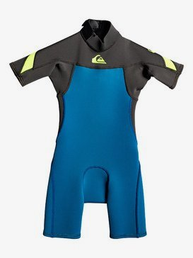 2/2mm Syncro - Short Sleeve Back Zip FLT Springsuit  EQKW503001