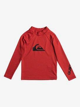 All Time - Long Sleeve UPF 50 Rash Vest for Boys 2-7  EQKWR03020