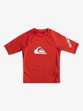 All Time - Short Sleeve UPF 50 Rash Vest for Boys 2-7  EQKWR03049