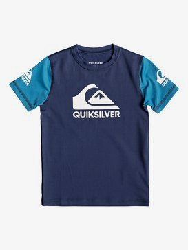 Heats On - Short Sleeve UPF 50 Surf T-Shirt for Boys 2-7  EQKWR03052