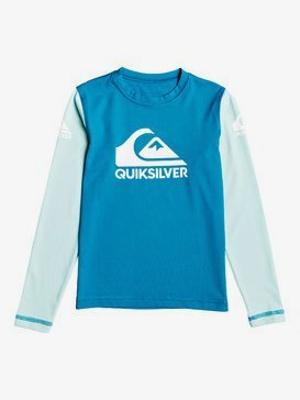 Heats On - Long Sleeve UPF 50 Surf T-Shirt for Boys 2-7  EQKWR03053